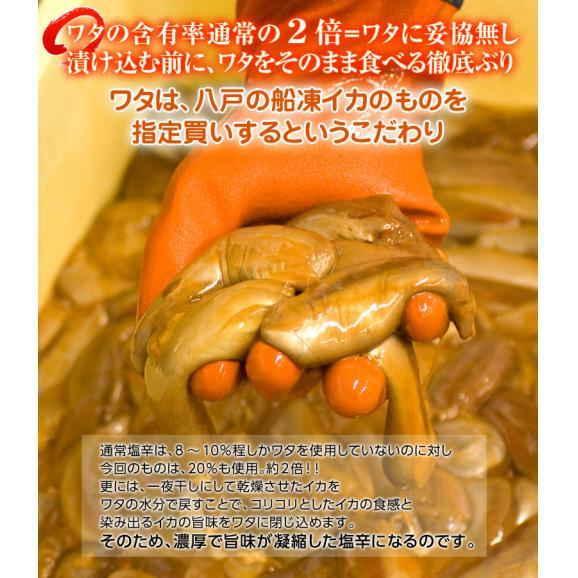 塩辛 しおから イカ 濃厚塩辛 約50g×6袋 おつまみ 酒の肴 しおから 塩から いか 烏賊 魚介 送料無料 冷凍同梱可能04