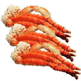超大盛! タラバ蟹 タラバガニ たらばがに ロシア産 特大 ボイル 約800g×3肩 合計2.4kg 6人前相当 送料無料 冷凍 たらば蟹 かに カニ 脚 タラバ