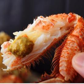 北海道産 ちょっと訳あり ボイル毛蟹( 堅蟹)2匹 約1kg ※冷凍 送料無料 殻の傷、脚の折れあり