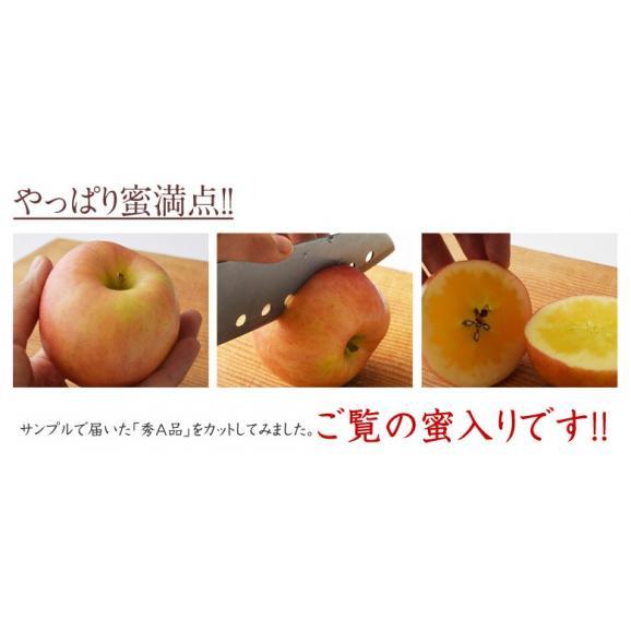 林檎 リンゴ 青森県産 ちょっと訳あり こみつりんご 6~12玉 約2kg 秀A品 ムラ・小さな傷あり 常温 4箱まで同一配送先に送料1口で配送可能05