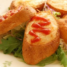 海老とフランスパンの絶妙なハーモニー!