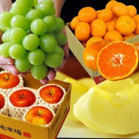 福袋 詰め合わせ 豊洲市場開場一か月記念「旬のフルーツ福袋3種 合計約4kg」送料無料