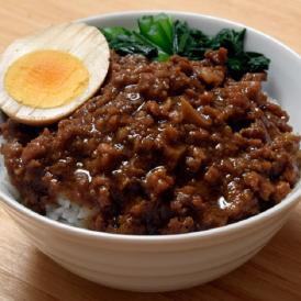 台湾 魯肉飯 の素 業務用 送料無料 屋台飯 ルーローファン ルーロー飯 温めるだけ 5食セット 1食あたり160g 冷凍