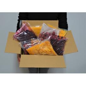 【賞味期限間近】冷凍フルーツ詰め合わせ 4種 計4キロ マンゴー マンゴーピューレ ストロベリー ブルーベリー 各500g×2P 送料無料