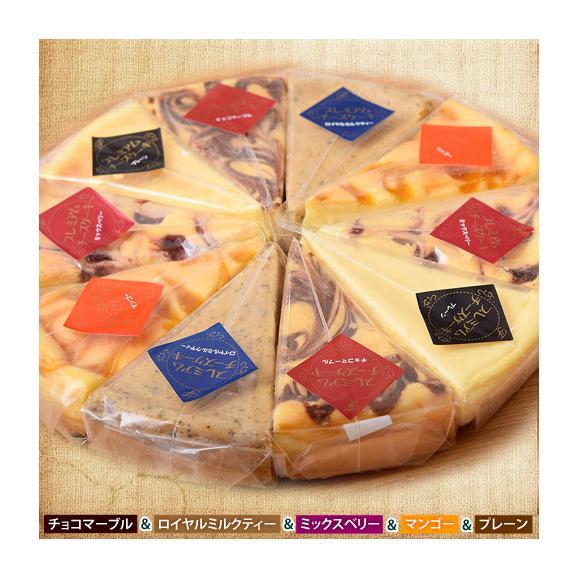 チーズケーキ 送料無料 濃厚『クラシックチーズケーキ』プレーン ミルクティー チョコマーブル マンゴー ミックスベリー 5種×2P01