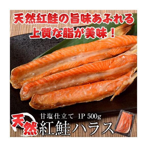 シャケ さけ 紅鮭 大トロ ハラス どっさり500g ※冷凍 01