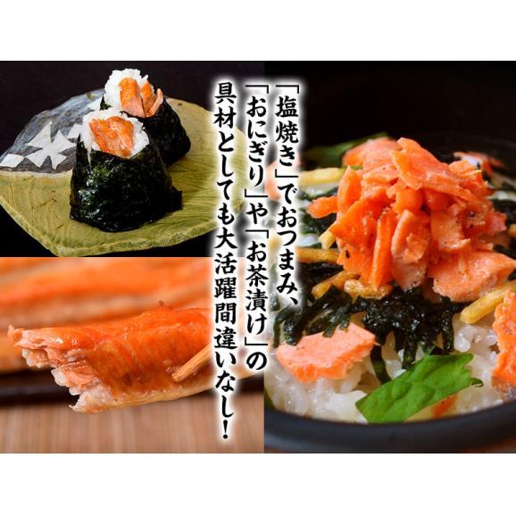 シャケ さけ 紅鮭 大トロ ハラス どっさり1キロ(500g×2P)送料無料 ※冷凍 05