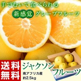 ジャクソンフルーツ 南アフリカ産 約2.5kg 目安として6~12玉程度 グレープフルーツ 送料無料