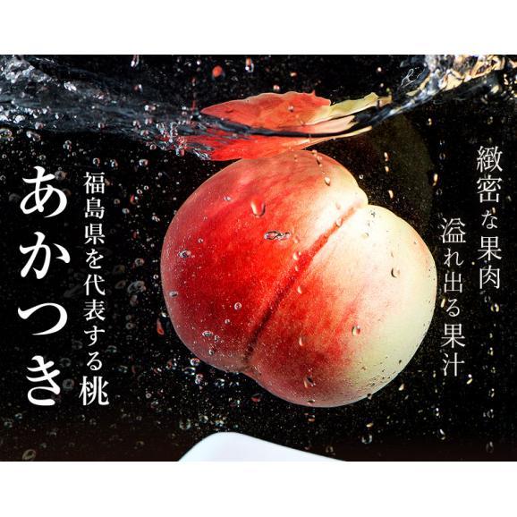 JAふくしま未来 福島県産 伊達の桃 品種限定 『あかつき』 秀品 約1.5kg (6~9玉) × 2箱 産地箱 ※常温 送料無料02