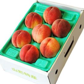 桃 もも モモ 果樹王国・山形県のフルーツのプロ・伊藤さんが選ぶ「旬の桃」約2kg(7~10玉) ※常温・送料無料