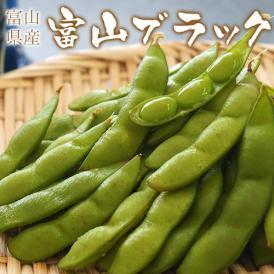 枝豆 えだまめ エダマメ 富山県 射水産 富山ブラック 約250g 3袋(合計約750g) 冷蔵