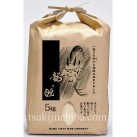 岐阜県産 「龍の瞳(いのちの壱)」 白米 5kg ※送料無料・常温・産地直送