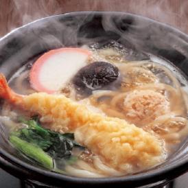 業務用 えび天鍋焼きうどん 10食 電子レンジ ウドン 海老 海老天 天ぷら 夜食 朝食 送料無料 冷凍