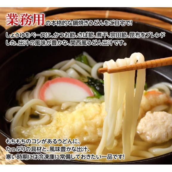 業務用 えび天鍋焼きうどん 10食 電子レンジ ウドン 海老 海老天 天ぷら 夜食 朝食 送料無料 冷凍05