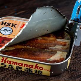 昭和9年創業 浜名湖食品の「うなぎ蒲焼缶詰」 1個 うなぎ ウナギ 鰻 100g  缶詰 カンヅメ 常温 ネコポス 送料無料