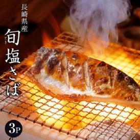 魚 さば サバ 鯖 送料無料 長崎県産 旬サバ [ときさば] 塩さば 1袋2枚入り 約220g×3P 干物 焼き魚 おかず 冷凍 同梱不可