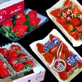 第2弾『ブランドいちご福袋』 4品種 合計約1キロ 新品種「いちごさん」&「ゆめのか」&「ひのしずく」&「紅ほっぺ」いちご イチゴ 苺 送料無料