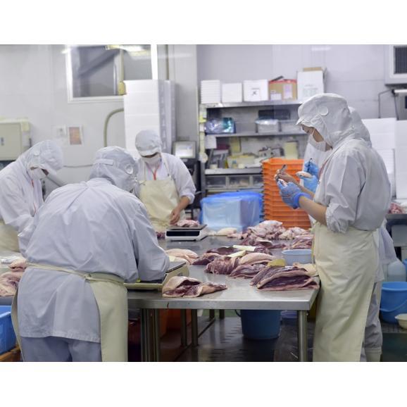 『フランス鴨(バルバリー種)のロース肉』オス・メス混合 計約1kg(3~4枚)青森県産 ※冷凍 送料無料03