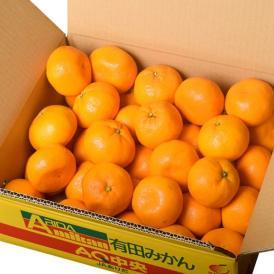 和歌山県産 有田みかん 2Lサイズ 約4.5kg(風袋込) 産地箱 ※常温 送料無料