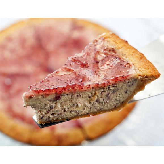 DaLuca『ベイクドチーズケーキ(やまもも)』 1ホール 6号サイズ(18cm)10カットタイプ ※冷凍 送料無料02