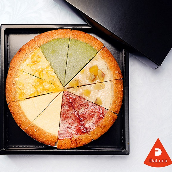 DaLuca『ベイクドチーズケーキ(5種アソート)』 1ホール 6号サイズ(18cm)10カットタイプ ※冷凍 送料無料01