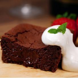 バレンタイン スイーツ ガトーショコラ エクアドル産アリバ種カカオ使用 チョコ 110g×2個 計220g 冷蔵