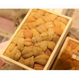 『キタムラサキウニ』弁当箱(バラ)約250g 北海道・岩手県産他  送料無料 ※冷蔵 s