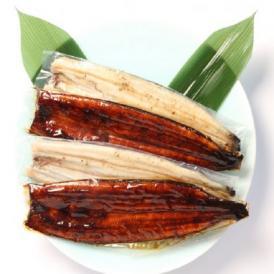 【暑中見舞い】【四万十産】低温長期養殖国産鰻「うなぎ長白焼き」と「うなぎ長蒲焼き」のお得な4パックセット