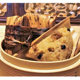 竹の皮に包んだ風味豊かな中華ちまき