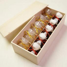 京都 鶴屋光信 母の日 ギフト 和菓子  木箱詰合せ 水羊羹5個・葛まんじゅう(柚子)5個