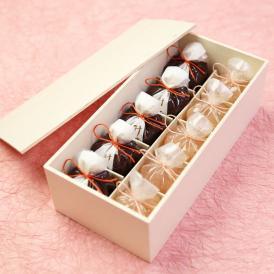 京都 鶴屋光信  母の日 ギフト 和菓子 木箱詰合せ 恋桜5個・水羊羹5個