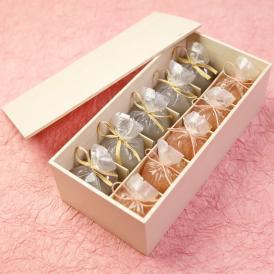京都 鶴屋光信 母の日 ギフト 和菓子 木箱詰合せ 恋桜5個・葛まんじゅう(小豆)5個
