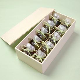 京都 鶴屋光信 母の日 ギフト 和菓子 木箱詰合せ せせらぎ羊羹10個入