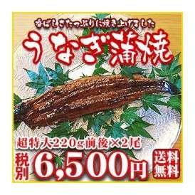 【うなぎ02】日本が誇る三河産の厳選素材を香ばしさたっぷりに焼き上げました!うなぎ蒲焼 超特大220g前後×2尾【愛知三河産】