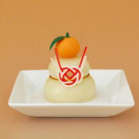 日本のお正月 鏡餅160g 橙付き[上下一体型]