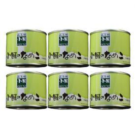 小国のなめこ缶詰6缶セット