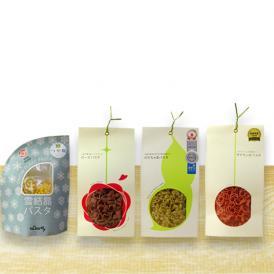 山形の彩りパスタセット[雪結晶/ローズ/だだちゃ豆/サクランボ]箱入