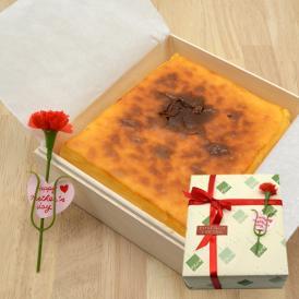 【母の日ギフト】ベイクドチーズケーキ[木箱入り]
