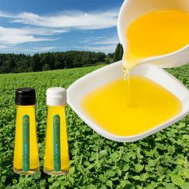 生しぼり国産えごま油(50g×2本)白えごま油×1、黒えごま油×1