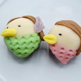和菓子で作る手作りアマビエセット(4種入)[箱入]