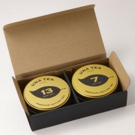 贈り物におすすめ。UNA TEA青山でも特に人気の茶葉をセットにいたしました。