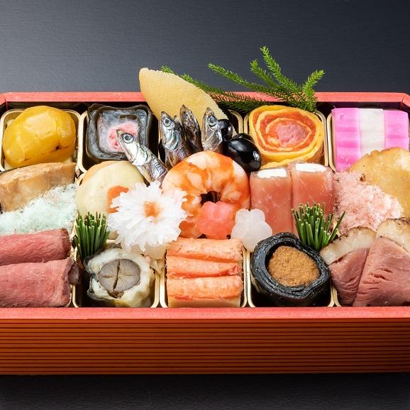 日本料理 卯之庵 お一人様用 初春小箱 -全20品-05