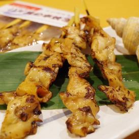 バイ貝の串焼き