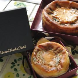 ミニ・ゴルゴンゾーラベイクドチーズケーキ