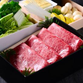 日本三大和牛の一つ近江牛のすき焼きセットをご用意しました。 最高の美味しさをご自宅でご堪能ください。