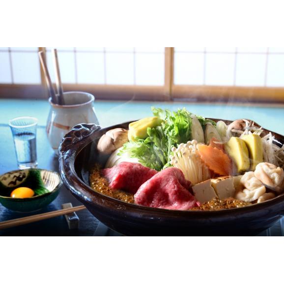 【2人前】「日本三大和牛」近江牛 すき焼きセット【送料無料】02
