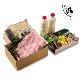 「京都」日吉豚の豆乳鍋セット(3~4人前)【送料無料】