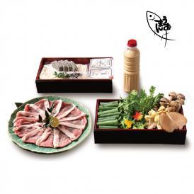 【2人前】「京都」日吉豚の豆乳鍋セット【送料無料】