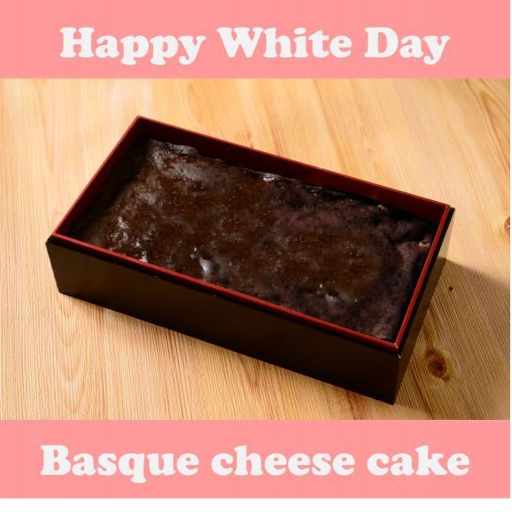 【ホワイトデーに…】カカオをまとった贅沢食感のバスクチーズケーキ01