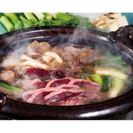 【冷凍】鍋用・天然真鴨スライスセット(1羽)濃縮だし付